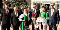 Başkan Akgün, soydaşlarımız için Moldovada