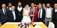 Başkan Bozkurt'tan ilk nikah