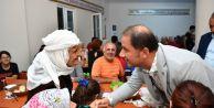 Başkan Çalık canlarla Gürpınar Cemevi#039;nde buluştu