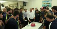 Başkan Cem Kara Çatalcaspor kampını ziyaret etti