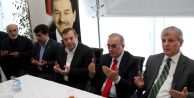 Başkan Kadıoğlu#039;na Taziye Ziyareti