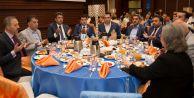 Başkan Karadeniz, İlçe Protokolünü Ağırladı