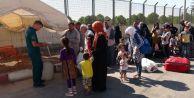 Bayramı ülkesinde geçiren 37 bin Suriyeli Türkiye#039;ye döndü