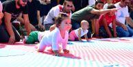 Bebekler, Emekleme Olimpiyatlarında Nefes Kesti