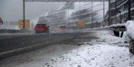 Bolu Dağı'nda 15 santim kar