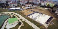 Büyük Atatürk Parkına modern sosyal tesisler