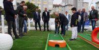 Büyük Atatürk Parkında mini golf keyfi