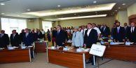 Büyükçekmece Belediye Meclisi'nden şehitlere saygı