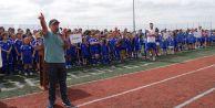 Büyükçekmece Belediyesi Yaz Spor Okulları törenle açıldı