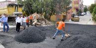 Büyükçekmece Belediyesi'nden asfalt seferberliği