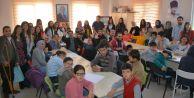 Büyükçekmece Belediyesinden engelli çocuklara resim eğitimi