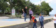 Büyükçekmece Kordonboyu yaz mevsimine hazırlanıyor