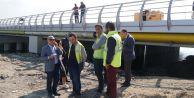 Büyükçekmecede çöken köprü yeniden hizmete açılıyor
