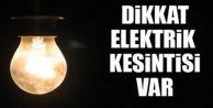 Büyükçekmece'de elektrik kesintisi açıklandı