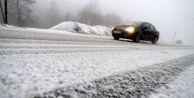 Buzlanma, don ve sis uyarısı