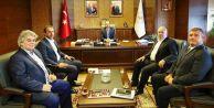 Çatalca Belediye Başkanı Mesut Üner Gençlik ve Spor Bakanını Ziyaret Etti