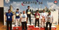 Çatalca Belediyesi Karate Takımı ödülleri topladı