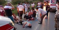 Çatalca#039;da feci kaza