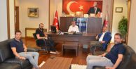 Çatalca Spor Kulübü'nden Başkan Cem Karaya Ziyaret
