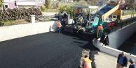 Çatalcada asfaltlama çalışmaları devam ediyor