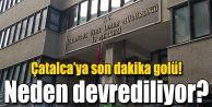 ÇATALCA'YA SON DAKİKA GOLÜ!