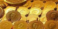 Çeyrek ve gram altın fiyatları düşüşe geçti