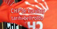 CHP#039;de kurultay tarihi belli oldu
