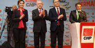 CHP Genel Başkanı Kemal Kılıçdaroğlu Kemal Deniz Bozkurt için oy istedi