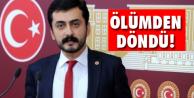 CHP İstanbul Milletvekili Eren Erdem İstanbul#039;da ölümden döndü.