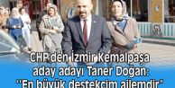CHP'li Taner Doğan İzmir Kemalpaşa için yola çıktı