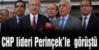 CHP lideri Perinçek#039;le yarım saat görüştü