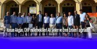 Akgün, CHP milletvekillerini ağırladı