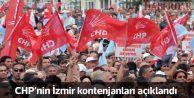 CHP'nin İzmir kontenjanları belli oldu