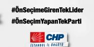 CHPDEN ÜYELERİNE ÖNSEÇİM ÇAĞRISI!