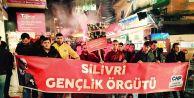 CHP'li Gençlerden 17 Aralık protestosu