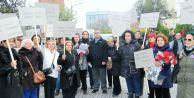 CHP'li kadınlar Kadına Şiddete Hayır dediler