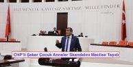 CHPli Şeker Çocuk Anneler Skandalını Meclise Taşıdı