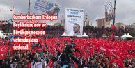Cumhurbaşkanı Erdoğan Beylikdüzü ve Büyükçekmece#039;de vatandaşlara  seslendi...