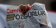 Cumhuriyet#039;e verilen cezalar dış basında