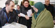 Dünya Su Gününde öğrenci ve vatandaşlara bilinçli su tüketimini anlatıldı