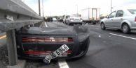 E-5#039;i Kilitleyen Kaza! Satacağı Aracını Hurdaya Gönderdi