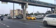 E-5#039;te Trafik Var Diye Geri Geri Gittiler
