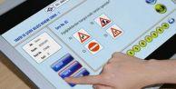 Ehliyet sınavında tablet dönemi