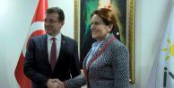 Ekrem İmamoğlu, Akşener#039;i ziyaret etti: Favori biziz