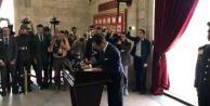 Ekrem İmamoğlu Anıtkabir#039;i ziyaret etti