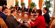 Ekrem İmamoğlu CHP#039;li belediye başkanları ve meclis üyeleri ile buluştu