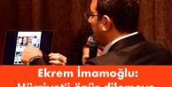 Ekrem İmamoğlu: Hürriyet#039;i özür dilemeye davet ediyorum