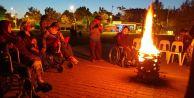 Engelli izciler kampa geleneğini sürdürdü