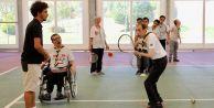 Engelli izciler teniste de iddialı