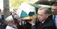 Erdoğan, Çatalca Eski İlçe Başkanı#039;nın Tabutunu Omuzladı